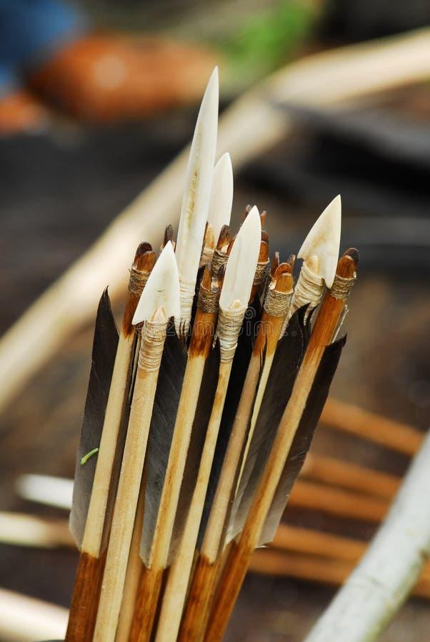 Frecce antiche fotografia stock