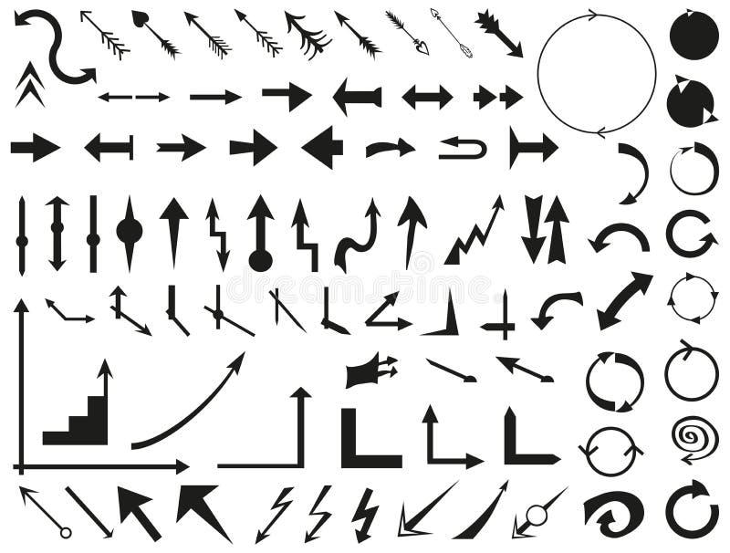 freccia illustrazione vettoriale