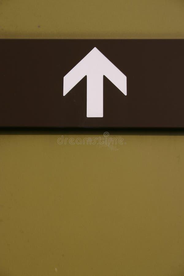 Freccia immagine stock
