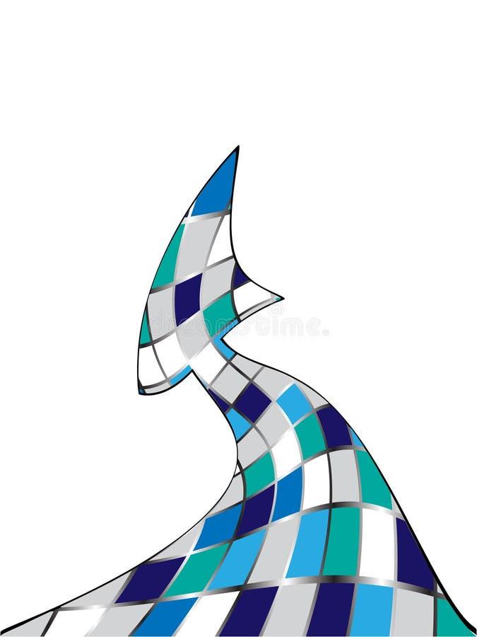Download Freccia astratta illustrazione vettoriale. Illustrazione di stampa - 7314199
