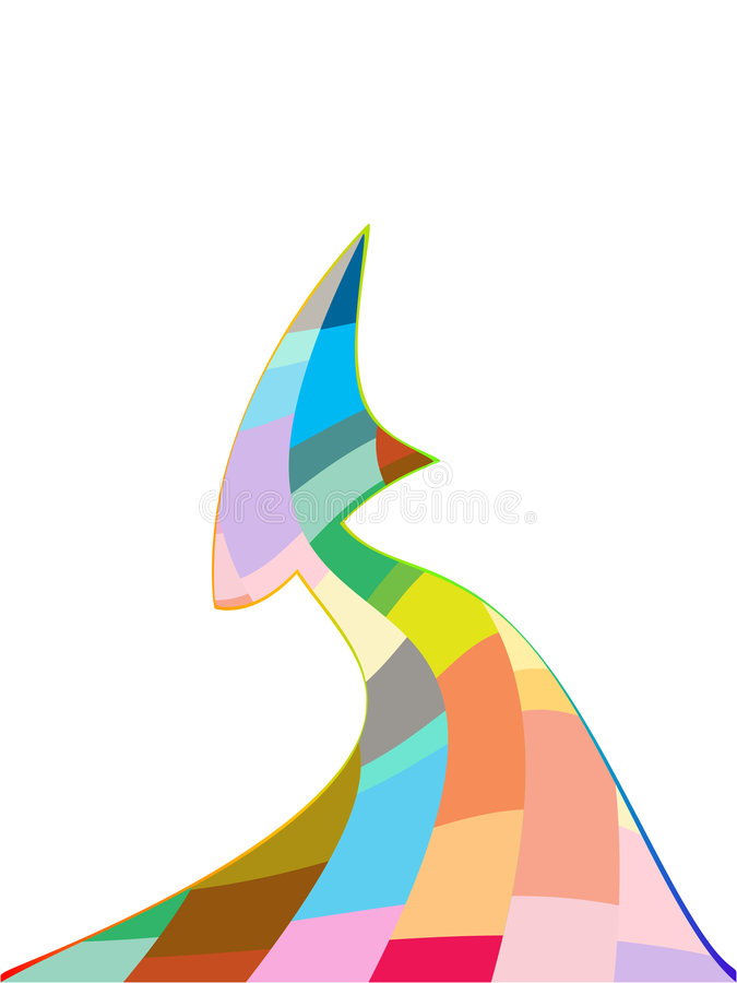 Download Freccia astratta illustrazione vettoriale. Illustrazione di ottenga - 7314200