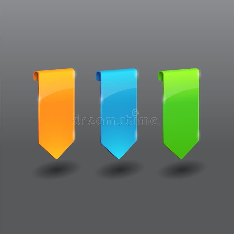 Freccia della modifica illustrazione di stock