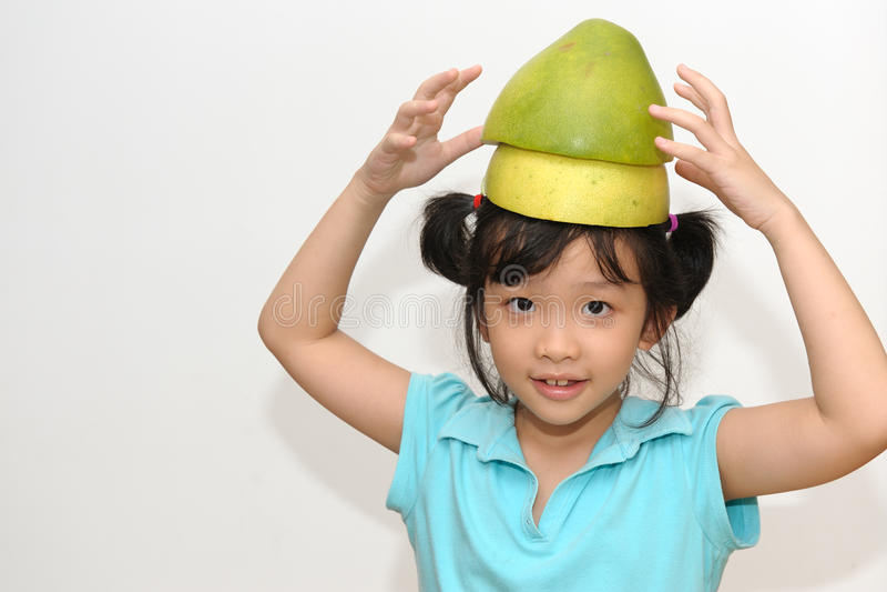 Freches glückliches Kind lizenzfreie stockbilder