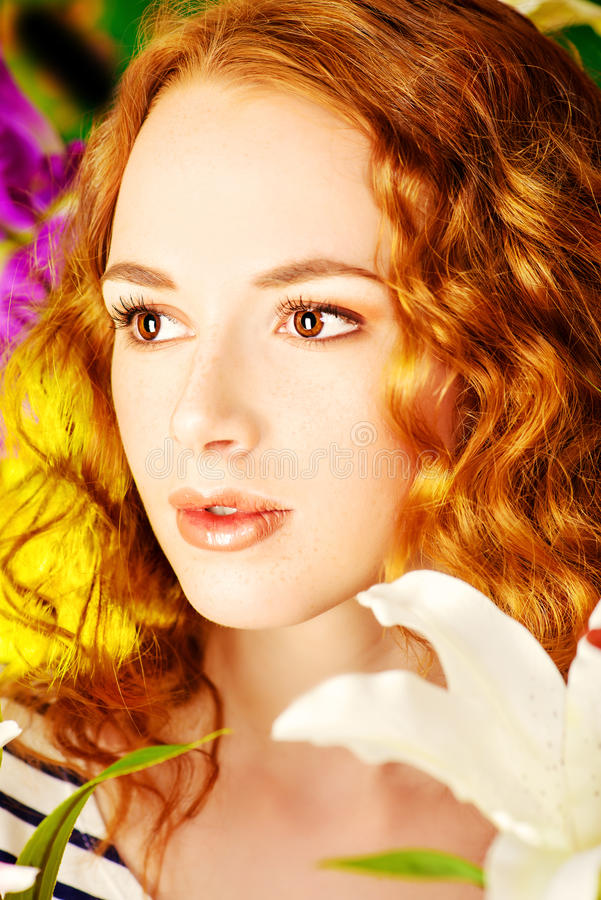 freckles stockbilder