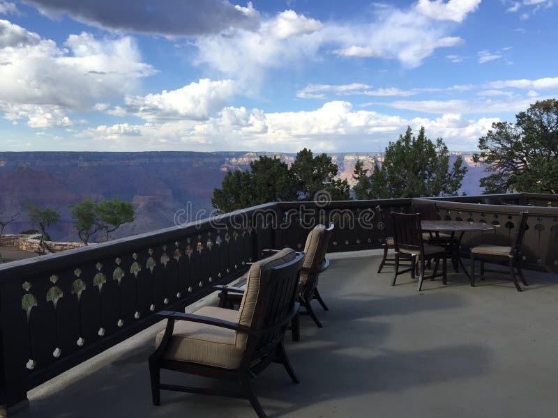 Fred Harvey Suite View di Grand Canyon fotografia stock libera da diritti