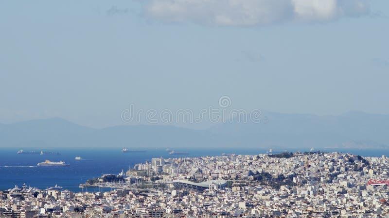 Fred- och kamratskapstadion i Aten fotografering för bildbyråer