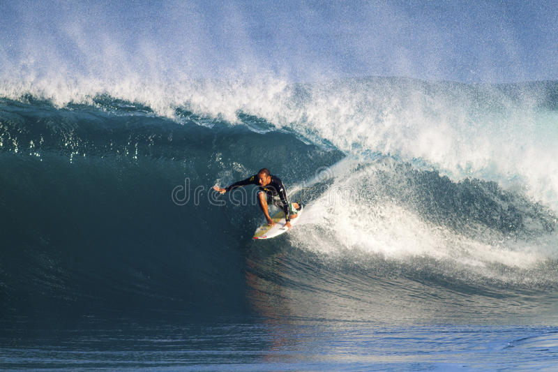 Download Fred Patacchia Of Hawaii, Surfing At Backdoor Editorial Photo - Image: 17381441