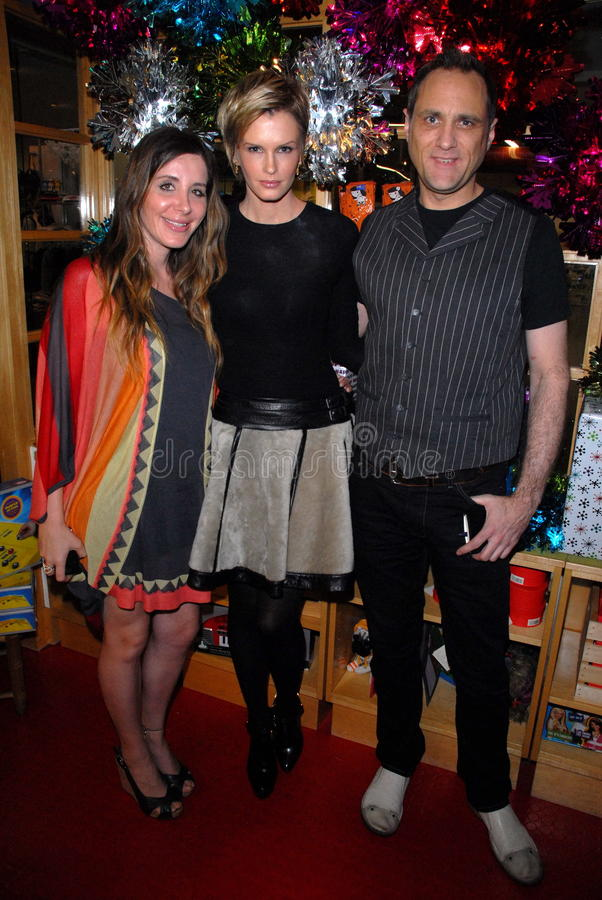 Fred Segal,Kylie Bax. Kylie Bax and friends at the launch of Kylie Bax and Spiros Poros' Moro Moro Kids Boot Collection at Ron Robinson Lifesize, Fred Segal stock photos