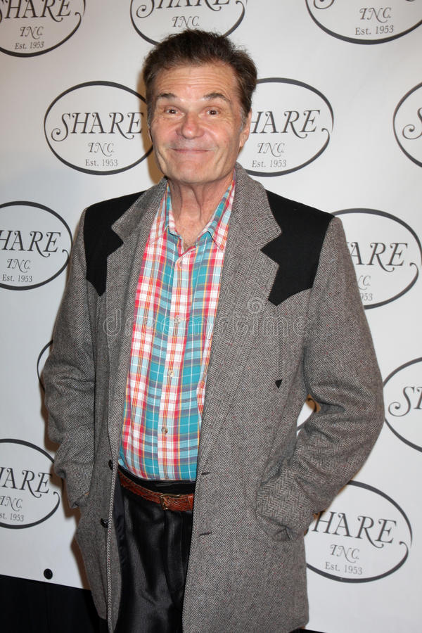 Fred Willard royaltyfria foton