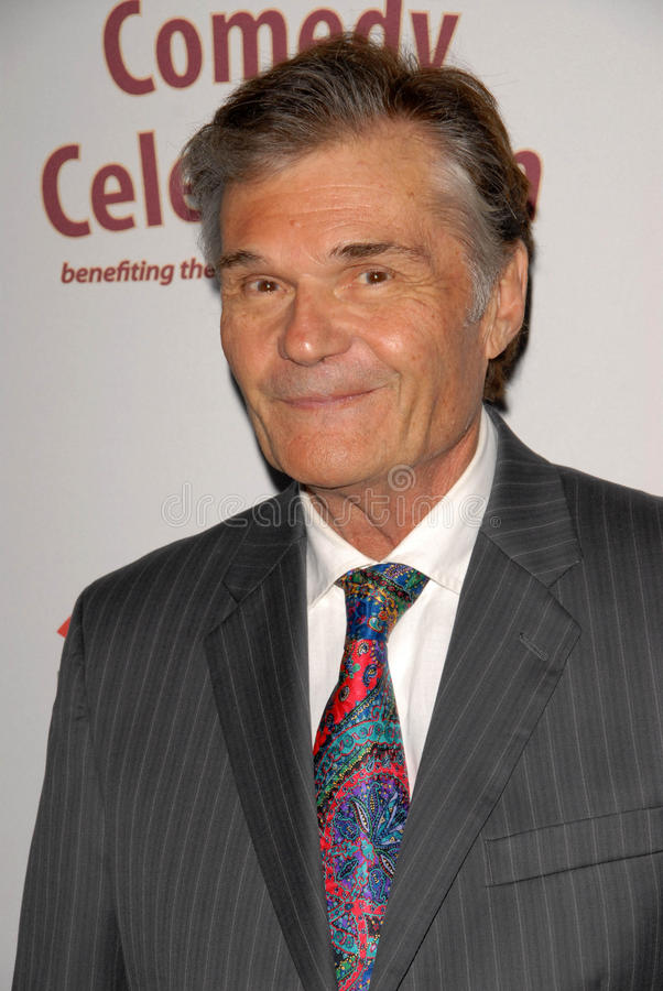 Fred Willard royaltyfri bild