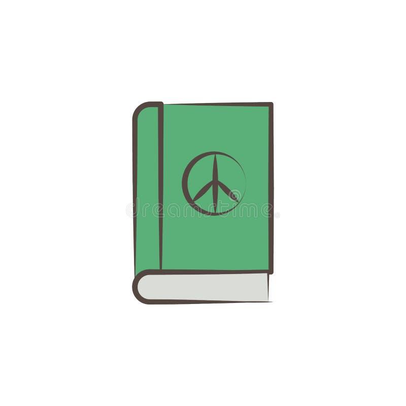 fredboken skissar stilsymbolen Beståndsdel av drog symbolen för fred den hand Högvärdig kvalitets- symbol för grafisk design teck royaltyfri illustrationer