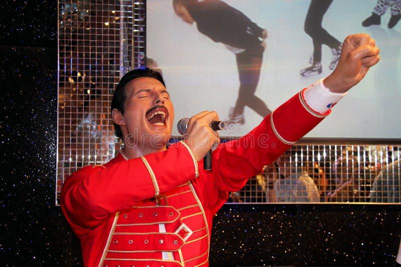 Freddie Mercury fotos de archivo libres de regalías