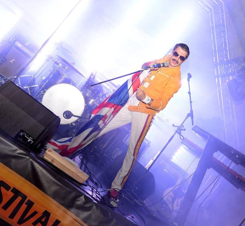 Download Freddie Mercury Tribute fotografia editoriale. Immagine di greatest - 55362591