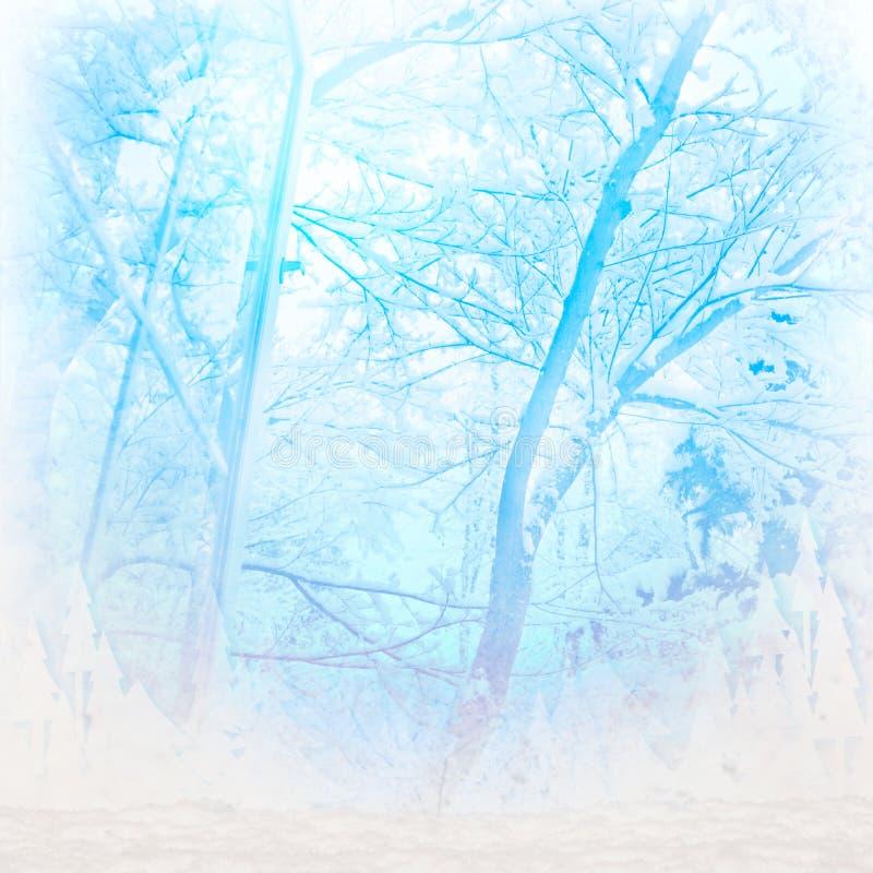 Freddo di inverno immagine stock