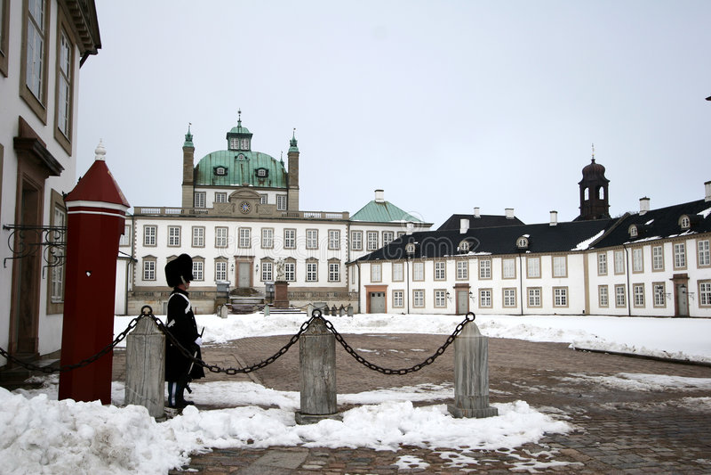 fredensborg castel стоковые изображения