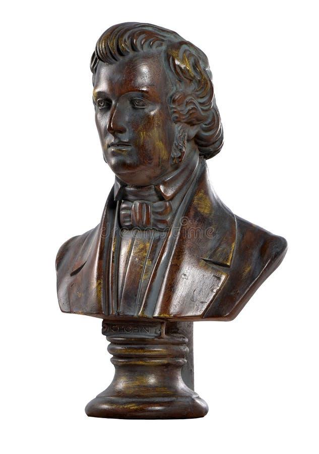 Frederic Chopin, componist, 1810-1849 royalty-vrije stock afbeeldingen