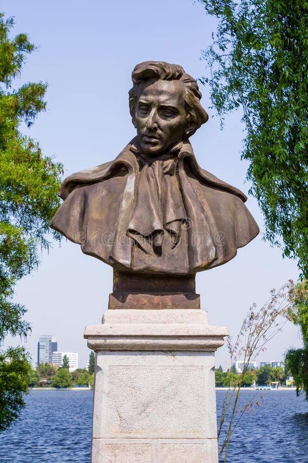 Frederic Francois Chopin royalty free stock image