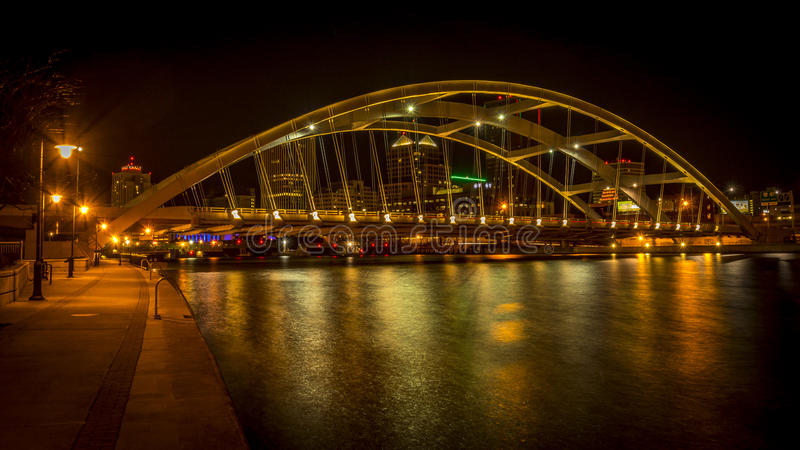 Frederick Douglass - Susan B Anthony Memorial Bridge images libres de droits