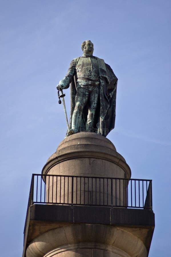 Frederick, Duke of York monument, London royalty free stock image