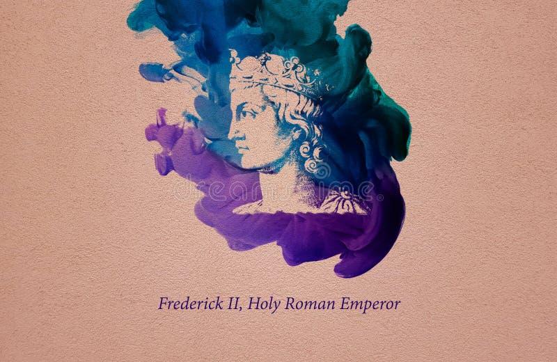 Frederick II, Roman Emperor santamente ilustração do vetor