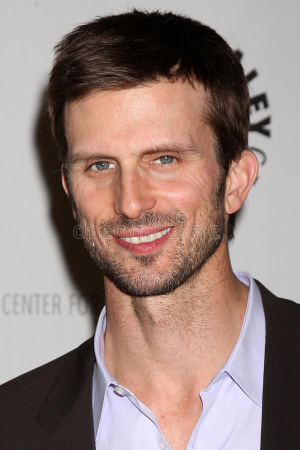 Frederick Weller Arrives At The Celebration Of The Final Season Of USA Network S  In Plain Sight  Editorial Stock Image