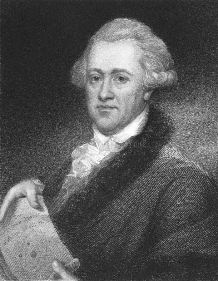 Frederick William Herschel images libres de droits