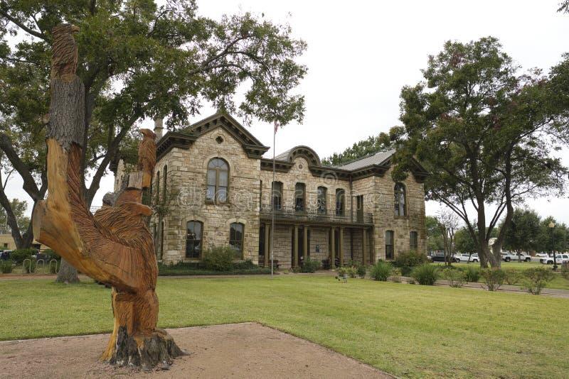 Fredericksburg Pioneer Memorial Library stock foto