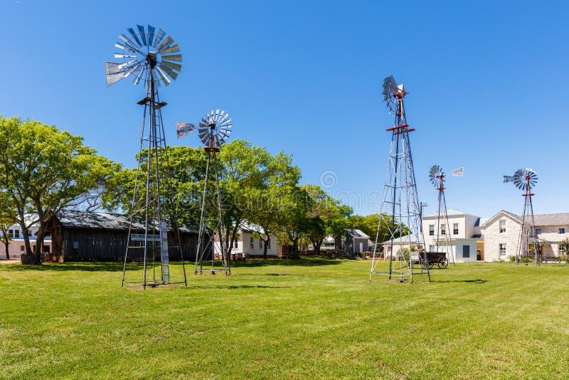Fredericksburg-Pionier-Museum stockfoto