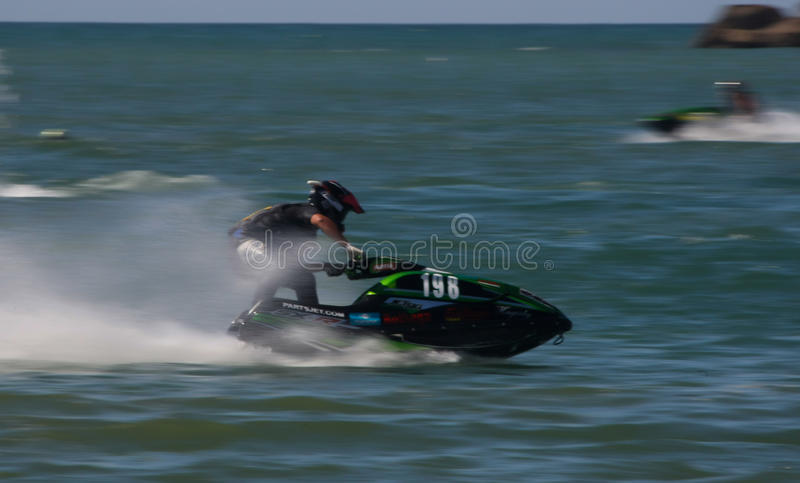 Download Frederico Gallego Riding His Jet Editorial Stock Photo - Image of rider, vacations: 26077623