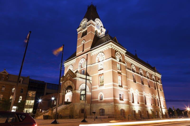 Fredericton Δημαρχείο στοκ φωτογραφία