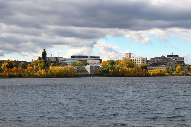 Fredericton Νιού Μπρούνγουικ, Καναδάς στοκ φωτογραφία με δικαίωμα ελεύθερης χρήσης