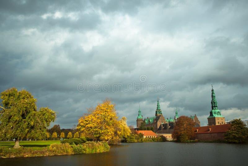 Frederiksborg szczelina zdjęcie royalty free