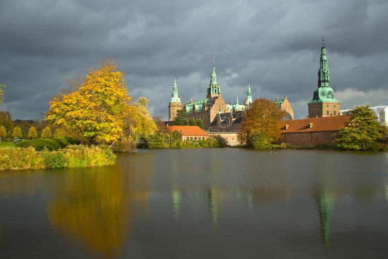 Frederiksborg szczelina zdjęcia stock