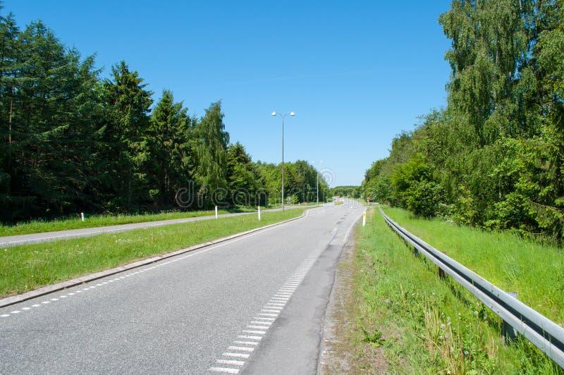 Frederiksborgvej dans Farum Danemark images libres de droits