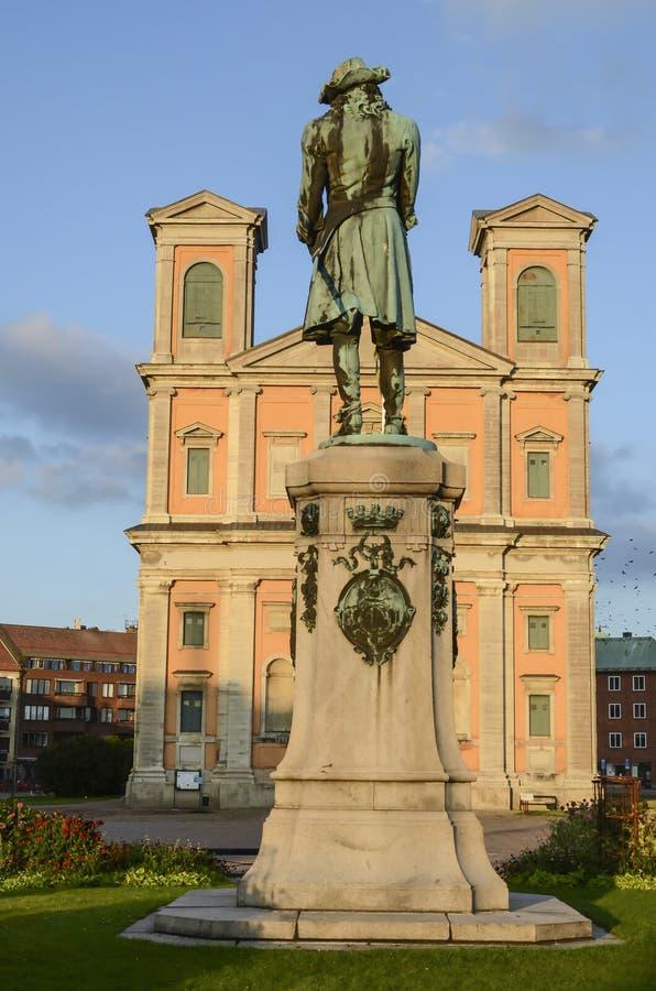 Fredrich Church Karlskrona imagenes de archivo