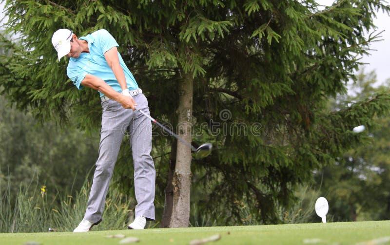 Download Fredrik Svanberg At The Golf Prevens Trpohee 2009 Editorial Photo - Image: 10773221
