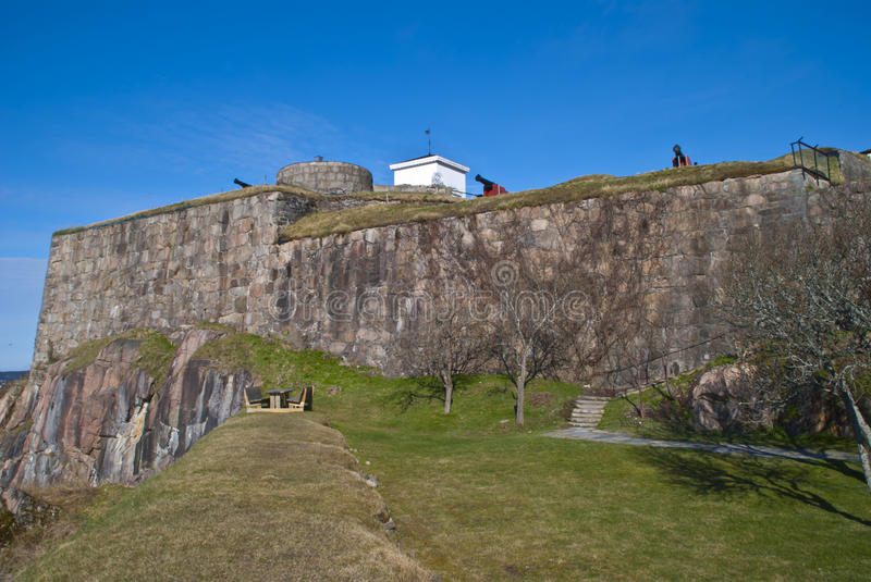 Download Fredriksten Fortress In Halden (outside Area) Stock Image - Image of fort, gate: 24441535