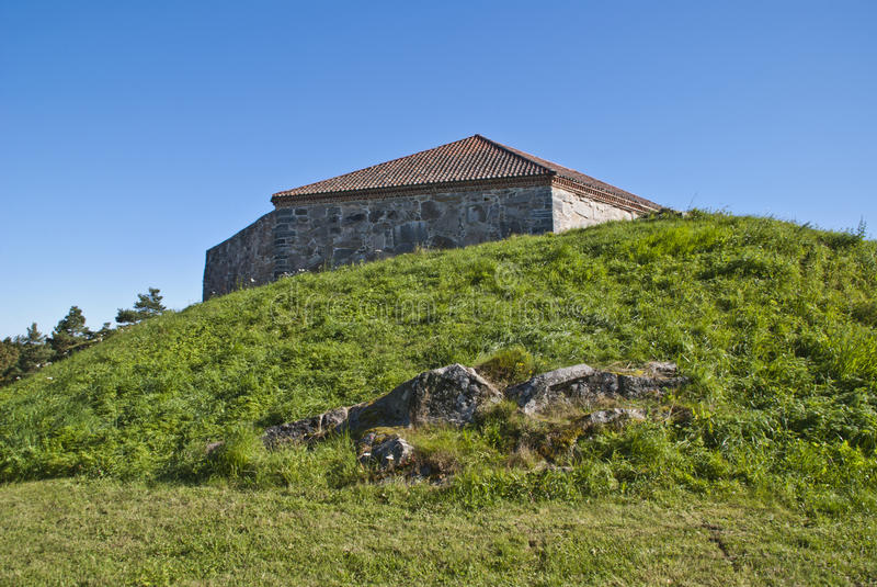 Download Fredriksten Fortress (large Tower) Stock Image - Image: 26511413