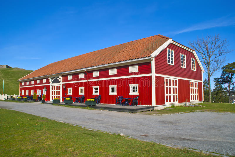 Fredriksten tavern and cafeteria royalty free stock images