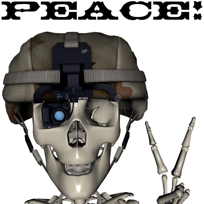 fredskalle arkivfoton
