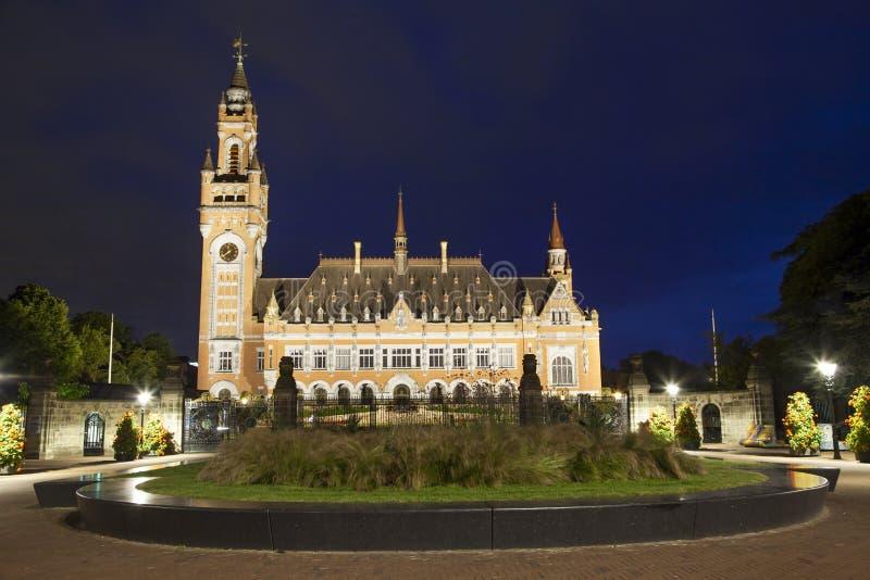 Fredslotten i Hague arkivfoto