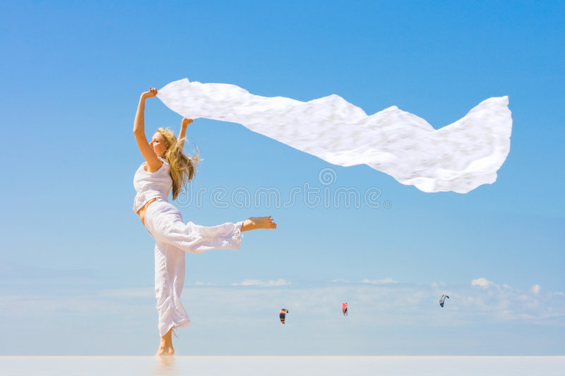 Free as a wind royalty free stock photography