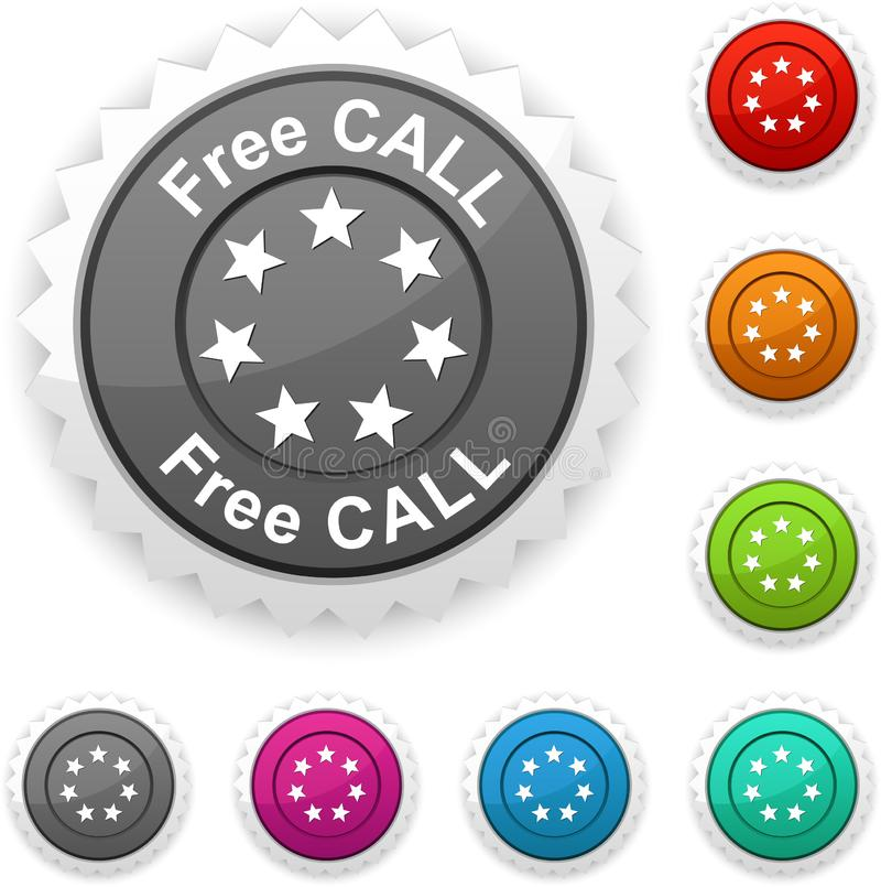 Free call award. royalty free stock photos