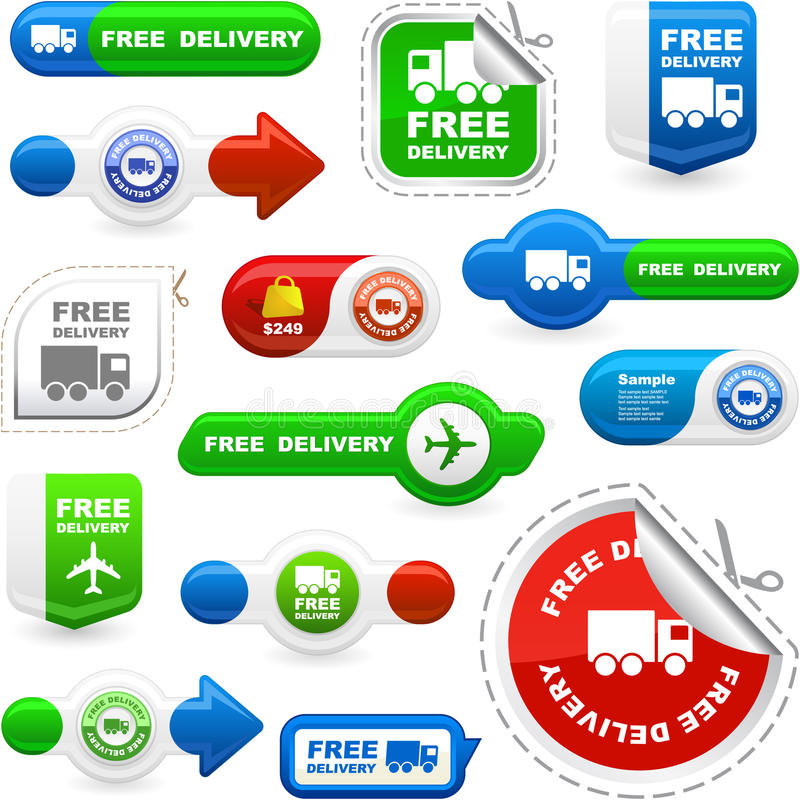 Free delivery. Free delivery elements for sale