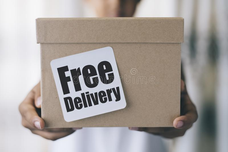 Free delivery royalty free stock images