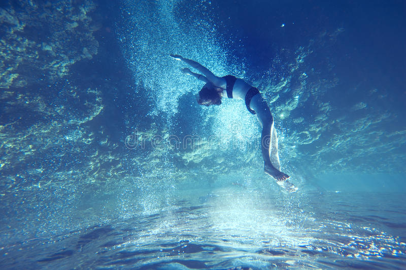 Free dive stock photos