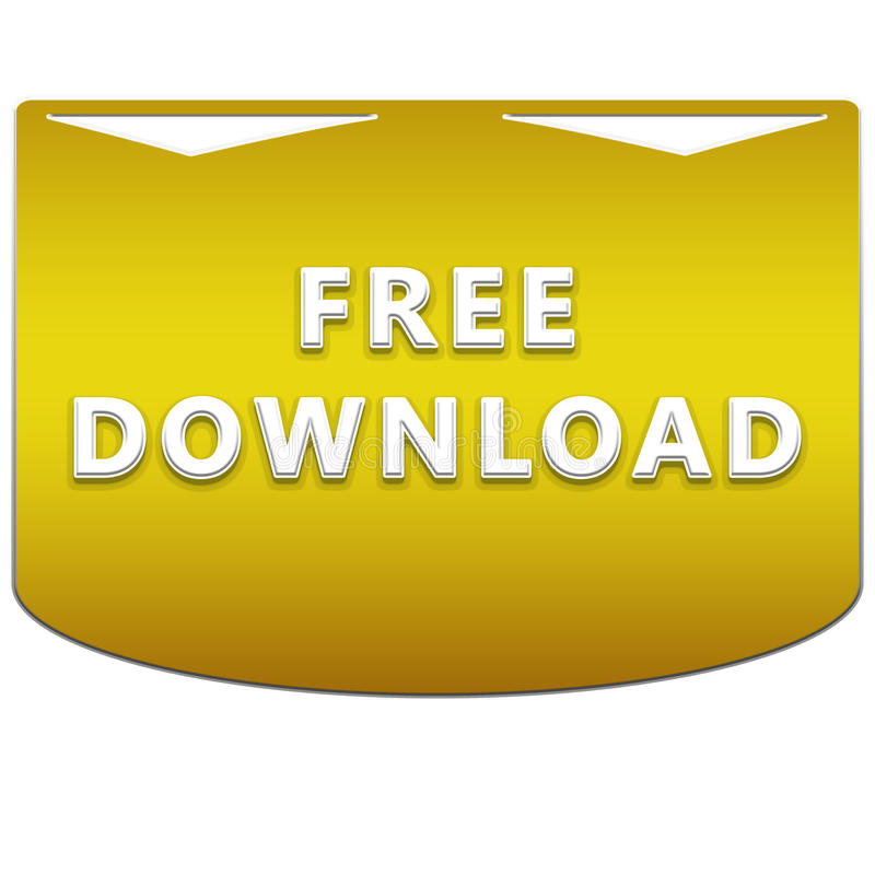 Free download button vector illustration