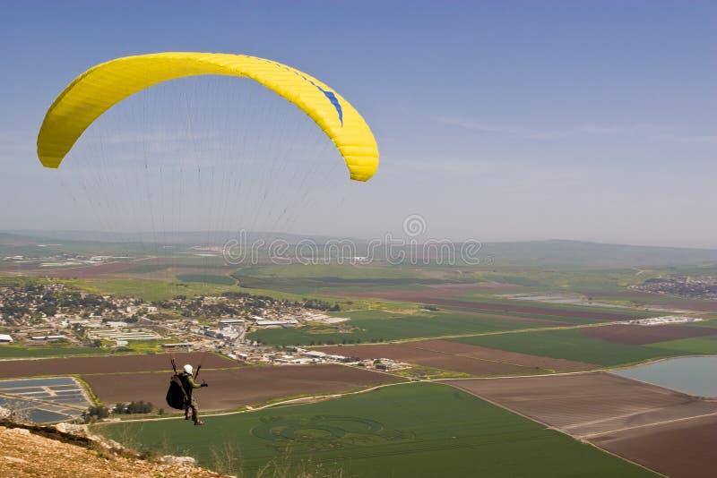 Free fall parachute royalty free stock image