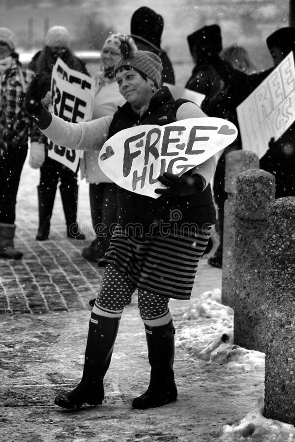 Free Hugs And A Wave Free Public Domain Cc0 Image