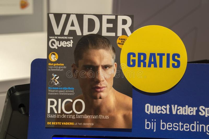 Free Magazine Vader When Spending Money At The Primera Shop At Amsterdam The Netherlands 2019 royalty free stock images